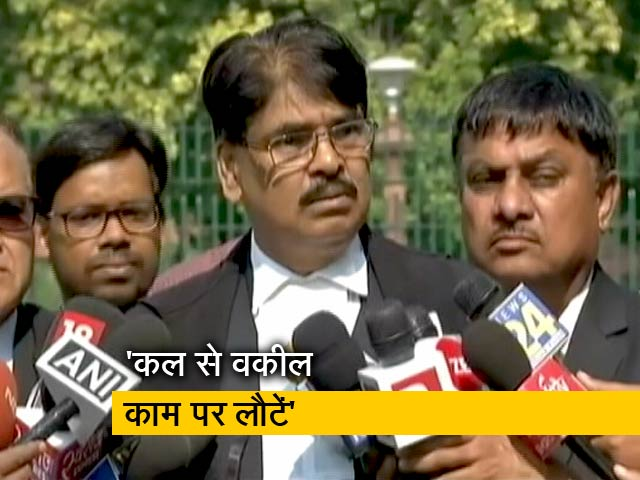 Videos : हड़ताल करने वाले वकीलों के खिलाफ होगी कार्रवाई: मनन मिश्रा