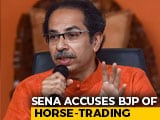 "Video : ""Like Match-Fixing..."": Shiv Sena Accuses BJP Of Horse-Trading Attempts"