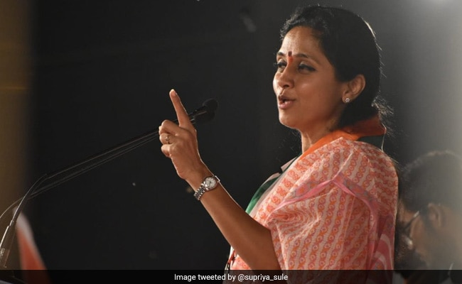 Rival NCP Factions Come Face-To-Face During Supriya Sule's Speech: Report