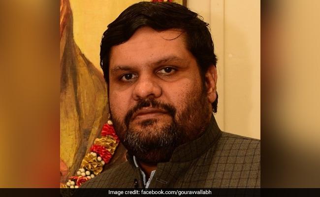 कांग्रेस ने 'एक ट्रिलियन में कितने जीरो होते हैं' पूछने वाले गौरव वल्लभ को CM रघुबर दास के खिलाफ उतारा