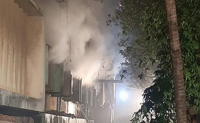 Fire Breaks Out At Plastic Godown In Mumbai's Malad, No Casualties