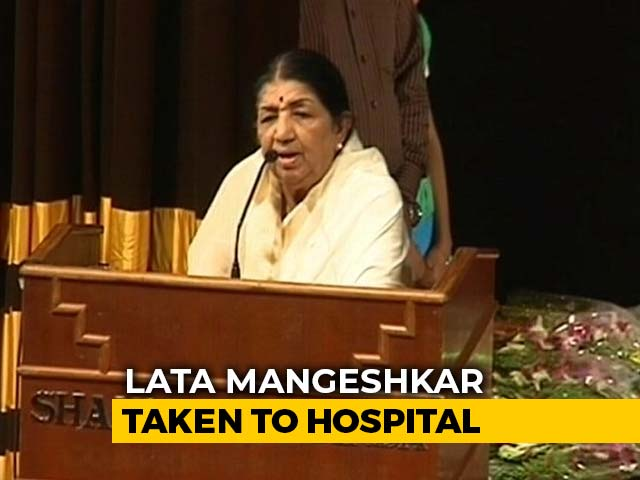 Singing Legend Lata Mangeshkar On A 'Path Of Recovery,' Says Family