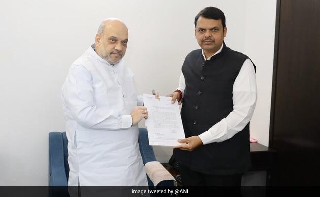 महाराष्ट्र में बीजेपी CM और कई अहम मंत्रालयों पर 'कोई समझौता नहीं' के रुख पर कायम