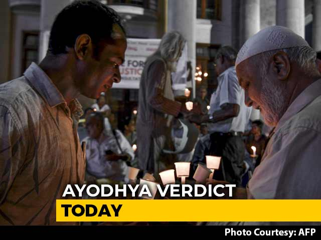 Video : Historic Ayodhya Verdict By Top Court Today Amid Security, Peace Appeals