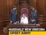 "Video : Rajya Sabha Marshals' New Uniform To Be ""Revisited"" After Bad Reviews"