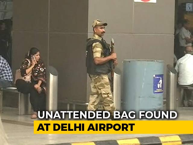 Video : Signs Of RDX In Abandoned Bag At Delhi Airport, Say Officials After Scare