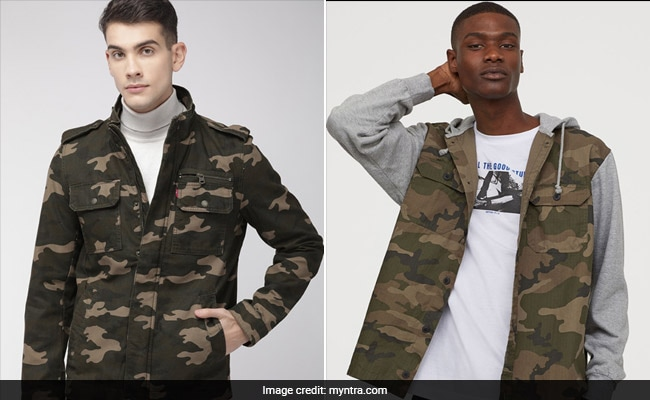 Trend Alert: Camouflage Prints Are Making The Rounds For Men