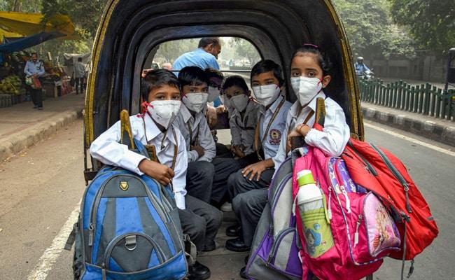 Delhi Air Pollution: प्रदूषण खतरनाक स्तर पर- अगले दो दिनों तक बंद रहेंगे दिल्ली-NCR के सभी स्कूल