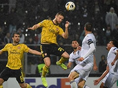 Europa League: Vitoria Guimaraes Hold Arsenal To 1-1 Draw At Home