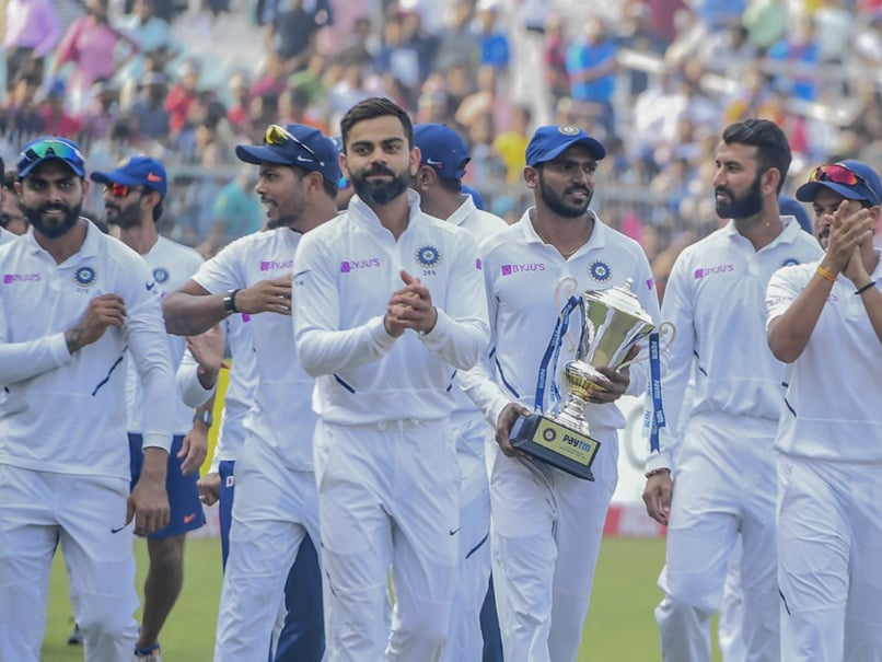 KS Bharat Reveals Virat Kohlis Motivational Words While Handing Him Trophy After Bangladesh Test Series Win