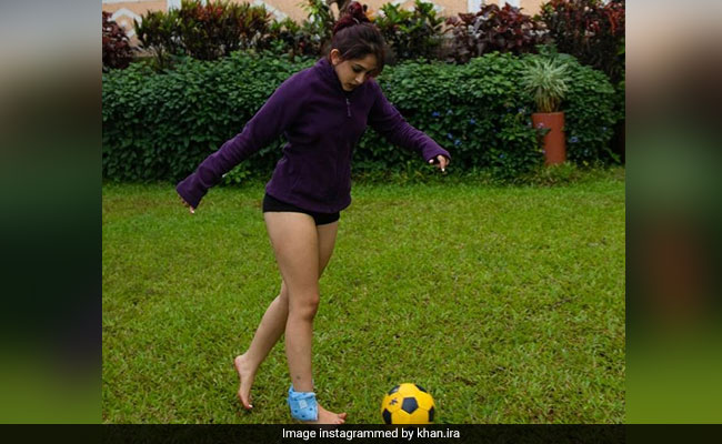 Ira Khan Reveals Her New Year's Resolution: 'Fix Back, Play Football'