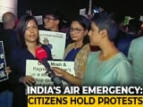 Video : Hundreds Gather At India Gate To Protest Against Delhi Air Pollution