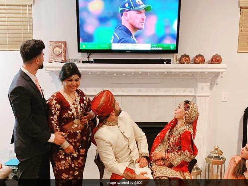 Couple Watches Cricket Soon After Marriage, ICC Makes Them Famous