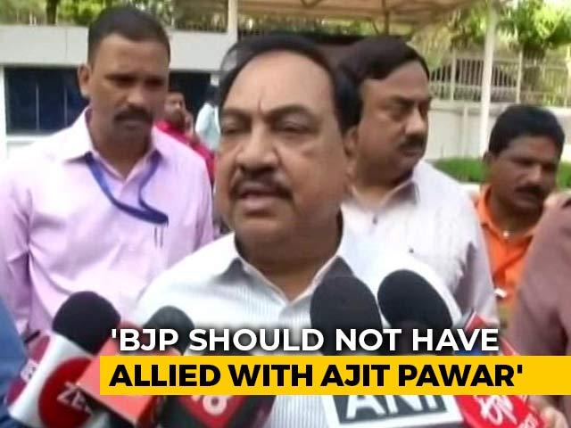 "Video : ""We Should Not Have Taken Support Of Ajit Pawar,"" Says BJP Leader"
