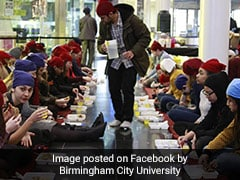 UK University Organizes <i>Langar</i> For Guru Nanak Birth Anniversary