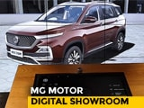 MG Motor Digital Showroom