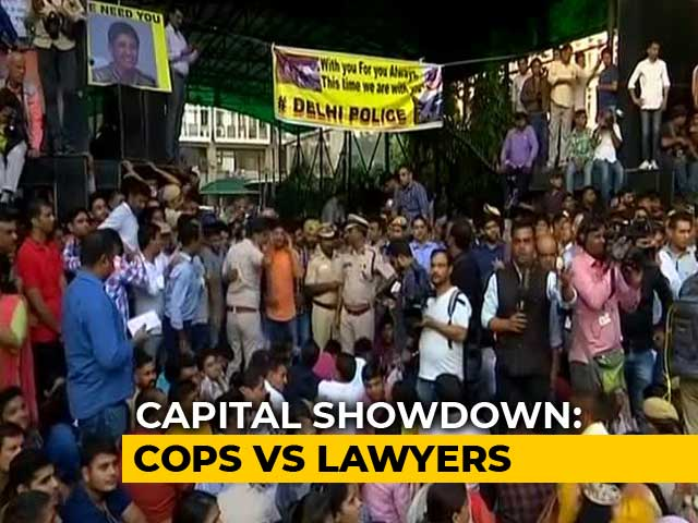 Video : Delhi High Court Notice To Bar Council As Cops Protest Over Assault