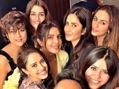 Fab Pics From Priyanka Chopra, Katrina Kaif's TGIF Bash With 'Fab Girls', Courtesy Ekta Kapoor