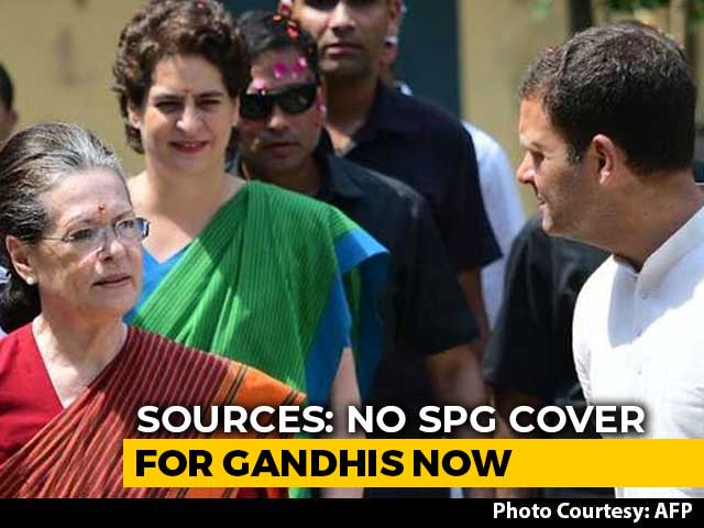 Video : Top-Level SPG Cover To Gandhis Withdrawn, Z+ Security Now: Sources