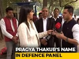 Video : Terror Accused Pragya Thakur Part Of Committee To Consult Ministry Of Defence