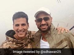Bhuvneshwar Kumar Trolls Shikhar Dhawan For Mimicking Akshay Kumar