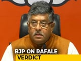 "Video : ""Who Were The Forces Behind Rahul Gandhi?"" BJP After Rafale Verdict"