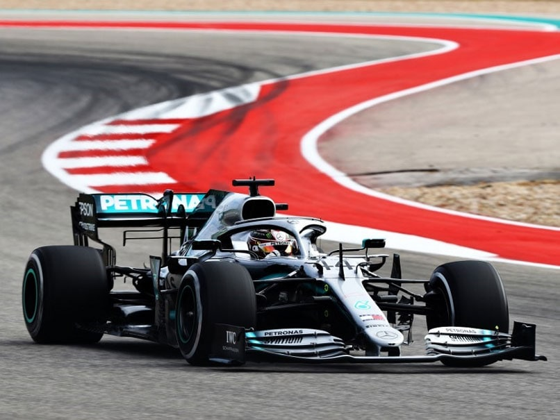 Lewis Hamilton Tops Charts In United States Grand Prix 2nd Practice As Sixth World Title Beckons