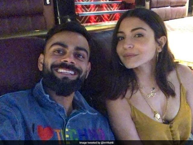 "At The Movies: Virat Kohli With ""Hottie"" Anushka Sharma"