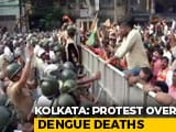 Video : BJP Workers Protesting Over Dengue Deaths Clash With Police In Kolkata