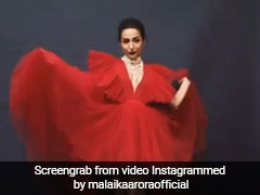 मलाइका अरोड़ा ने कराया फोटोशूट, रेड ड्रेस में यूं बरपाया कहर, देखें Video