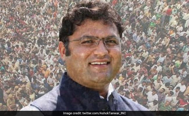Ex-Haryana Congress Chief Ashok Tanwar To Form New Party Ahead Of Delhi Elections