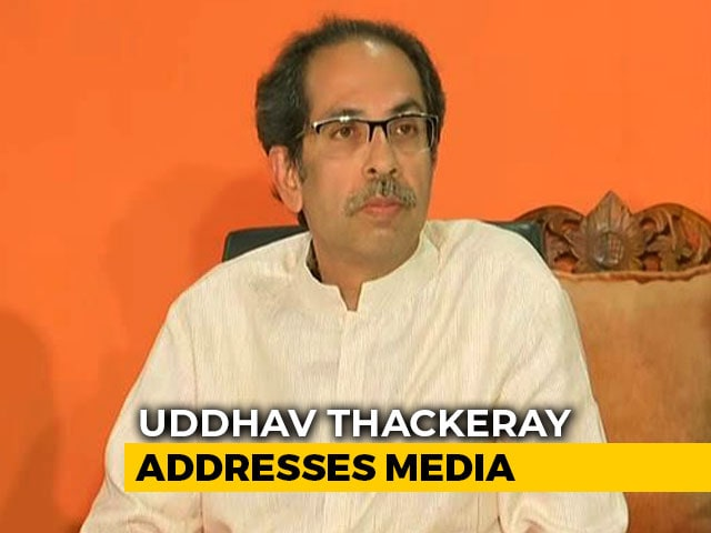 "Video : ""Can't Work With Liars"": Uddhav Thackeray After Devendra Fadnavis' Attack"