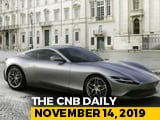 Video : Ferrari Roma, Honda SP 125 BS6, New Land Rover Defender In Bond Movie