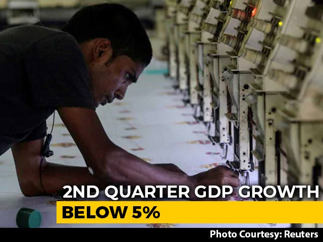 Video : GDP Growth At 4.5% In July-September, Worst In More Than 6 Years