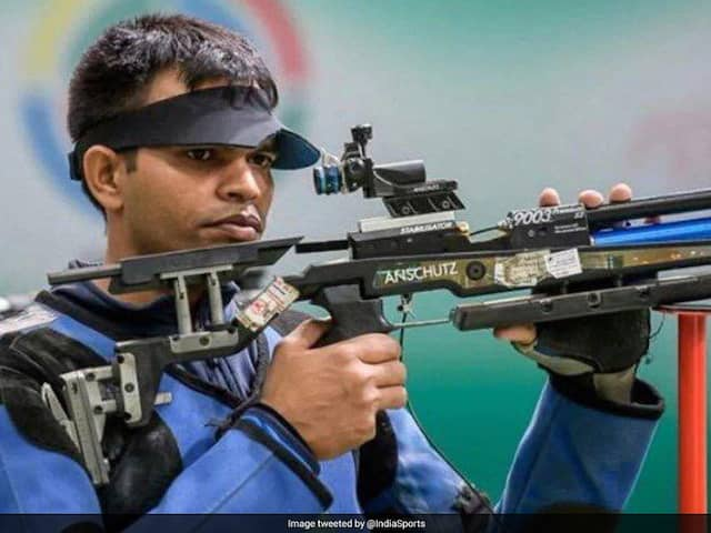 Deepak Kumar Secures Indias 10th Tokyo Olympics Quota In Shooting