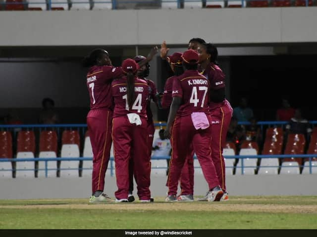 India Women Lose By One Run To West Indies In Opening ODI