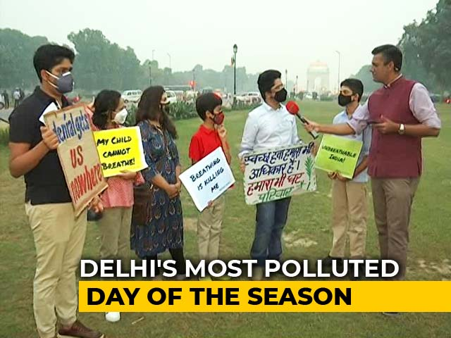 Video : Delhi's Air Crisis: Students, Parents Speak Out