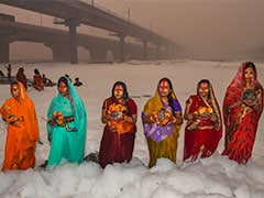 Pollution Control Committee Asked To Submit Report On Foaming Yamuna