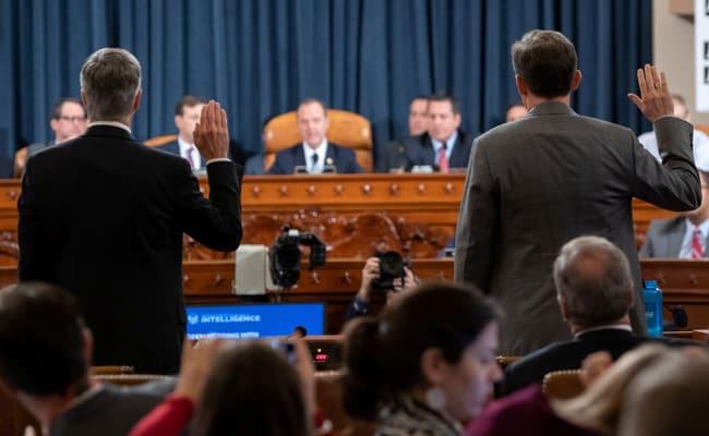 Republicans Fumble As New Details In Impeachment Hearings Corner Trump