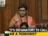 "Video : ""Called Terrorist"": Pragya Thakur Hits Back At Rahul Gandhi In Parliament"