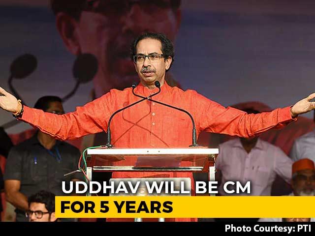 Video : Uddhav Thackeray To Lead Maharashtra Government: Sharad Pawar After Talks