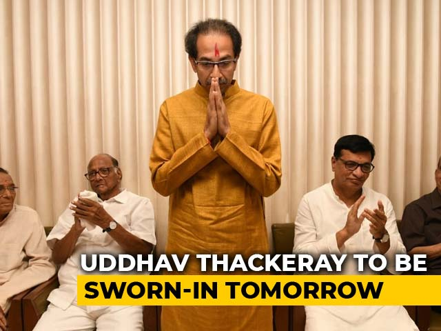 Video : Oath Tomorrow, Shiv Sena-NCP-Congress Yet To Work Out Power-Sharing
