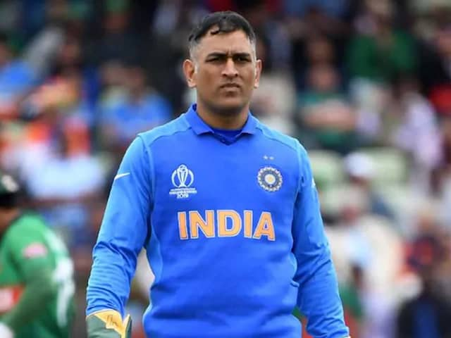 MS Dhoni Unlikely To Commentate In Day-Night Test: Report
