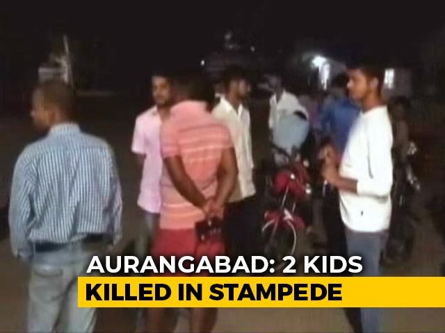 Video : 2 Children Killed In Stampede During Chhath Puja In Bihar's Aurangabad