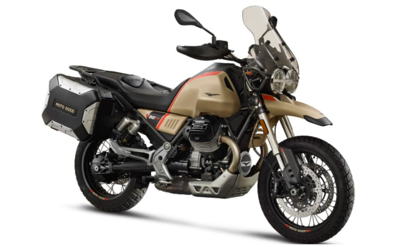 The 2020 Moto Guzzi V85 TT Travel joins the V85 TT family as the third variant