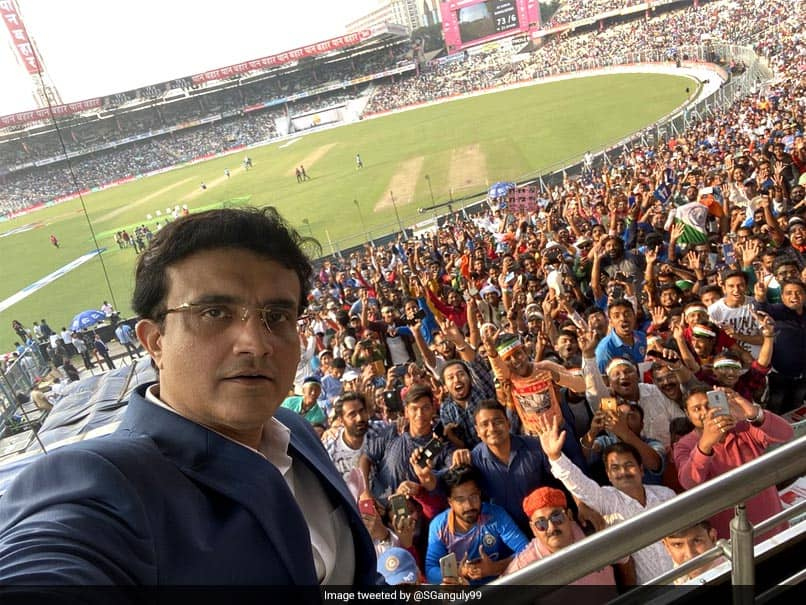 """Sourav Ganguly """"Relaxed, Relieved And Happy"""" After Success Of Indias First Pink Ball Test"""