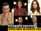 Video : JNU Students March To Parliament Against Fee Hike