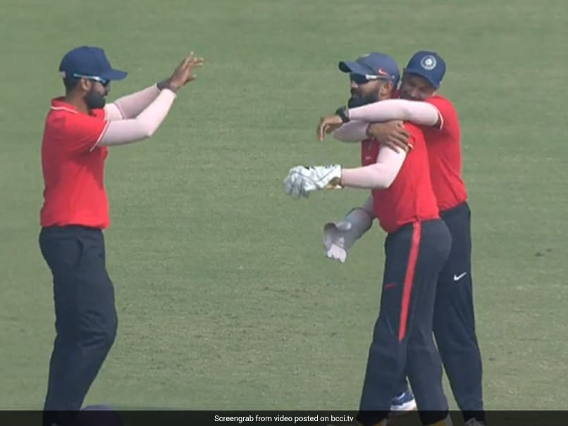 Dinesh Karthiks One-Handed Stunner In Deodhar Trophy Final Sends Twitter Into A Frenzy. Watch