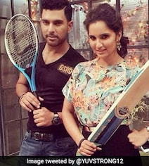 Sania's Reply To Yuvraj's 'Hai Hai Mirchi' Birthday Wish Is Comedy Gold