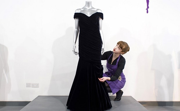 Princess Diana's iconic dress worn to dance with John Travolta worth £350k